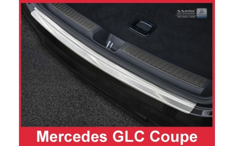 Накладка на задний бампер Mercedes GLC-Class Coupe C253