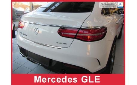Накладка на задний бампер Mercedes GLE-Class