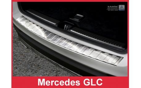 Накладка на задний бампер Mercedes GLC-Class