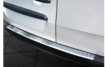Накладка на задний бампер Mercedes Citan