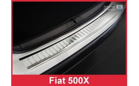 Накладка на задний бампер Fiat 500X