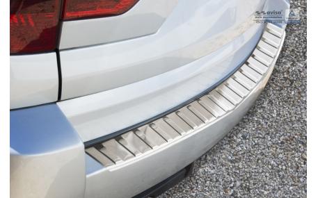 Накладка на задний бампер BMW X3 E83