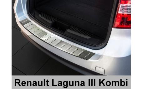 Накладка на задний бампер Renault Laguna