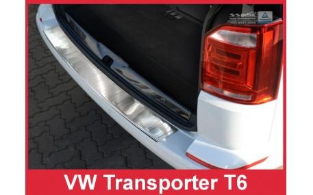 Накладка на задний бампер Volkswagen T6