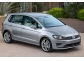 Накладка на задний бампер Volkswagen Golf Sportsvan