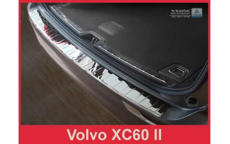 Накладка на задний бампер Volvo XC60
