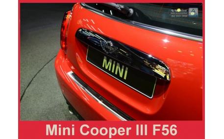 Накладка на задний бампер Mini Cooper