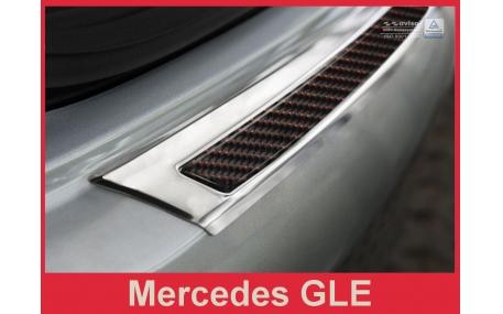 Накладка на задний бампер Mercedes GLE-Class C292
