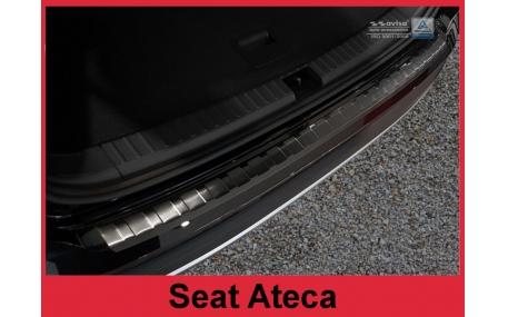 Накладка на задний бампер Seat Ateca
