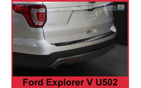 Накладка на задний бампер Ford Explorer