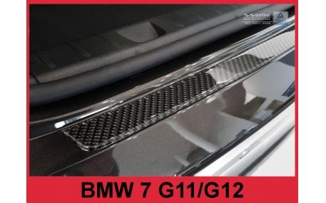 Накладка на задний бампер BMW 7 (G11)