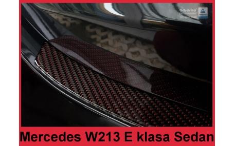 Накладка на задний бампер Mercedes E-class W213