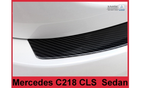 Накладка на задний бампер Mercedes CLS-class W218