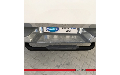 Защита задняя Nissan Navara