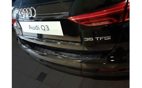 Накладка на задний бампер Audi Q3