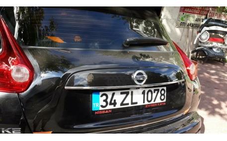 Хром накладки Nissan Juke