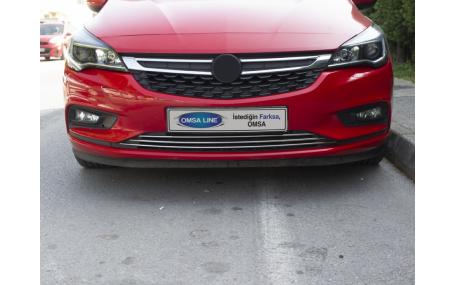Хром накладки Opel Astra K