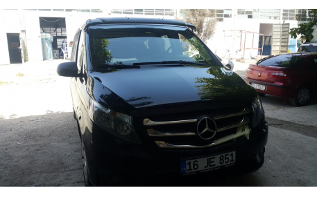 Козырек Mercedes Vito W447