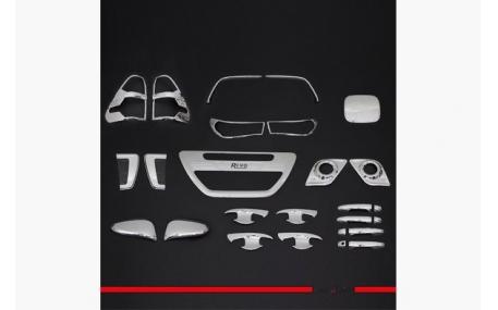Хром накладки Toyota Hilux