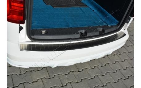 Накладка на задний бампер Volkswagen Caddy