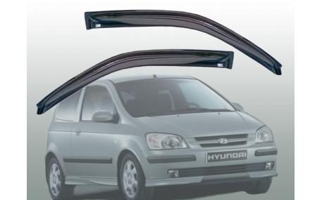 Дефлекторы окон Hyundai Getz