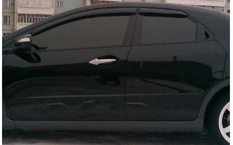 Дефлекторы окон Honda Civic
