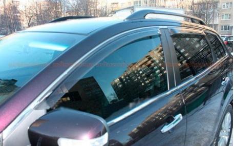 Дефлекторы окон Mazda CX-9
