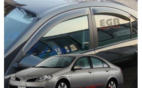 Дефлекторы окон Nissan Primera