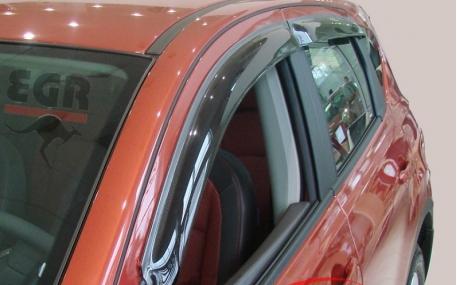 Дефлекторы окон Nissan Qashqai
