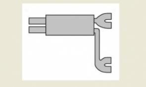 NM453 (2 входа - 4 выхода)