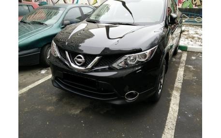 Дефлектор капота Nissan Qashqai J11