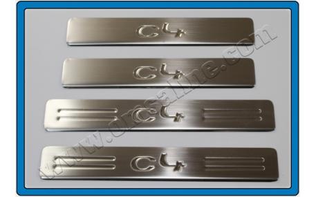 Накладки на пороги Citroen C4