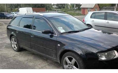 Дефлекторы окон Audi A6 C5