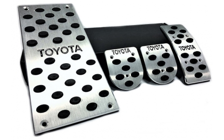 Накладки на педали Toyota