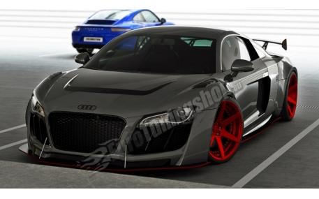 Бампер передний Audi R8