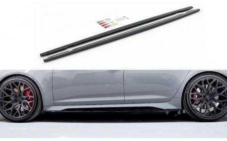 Накладки на пороги Audi A6 C8