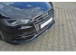Накладка передняя AUDI S3 8V Sportback