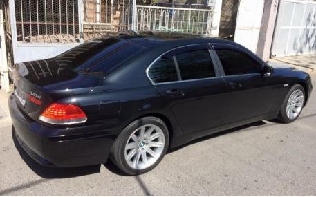 Дефлекторы окон BMW E65