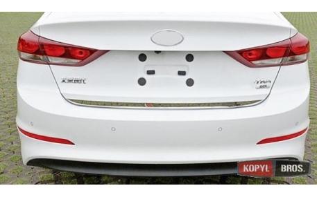 Хром накладки Hyundai Elantra