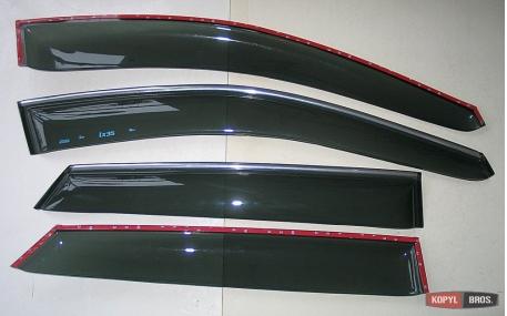 Дефлекторы окон Hyundai ix35