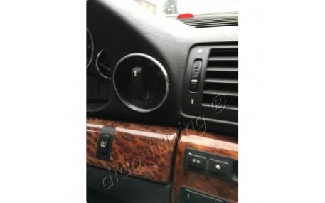 Кольца в щиток приборов BMW E38