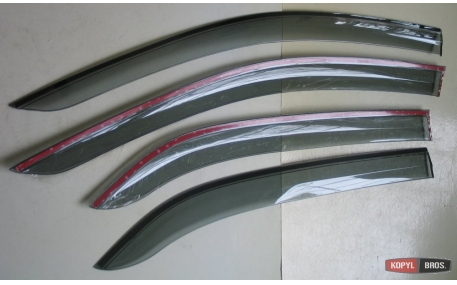 Дефлекторы окон Peugeot 301