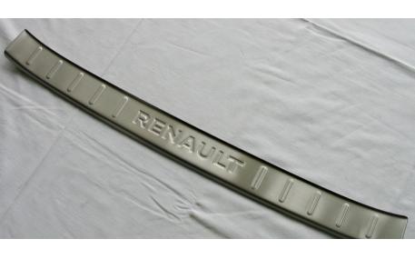 Накладка на задний бампер Renault Kadjar