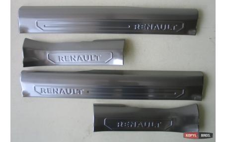 Накладки на пороги Renault Kadjar