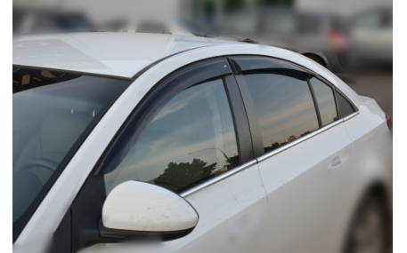 Дефлекторы окон Chevrolet Cruze