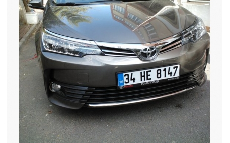 Хром накладки Toyota Corolla