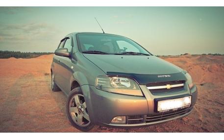 Дефлектор капота Chevrolet Aveo T200