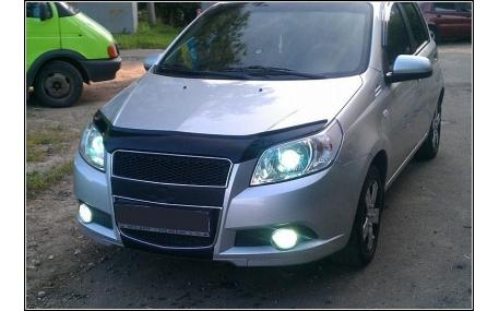 Дефлектор капота Chevrolet Aveo T255
