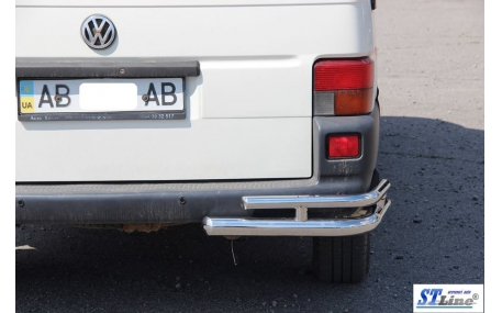 Защита задняя Citroen Berlingo