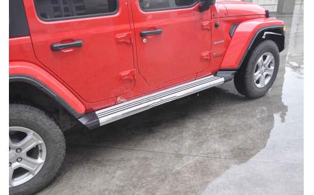 Подножки Jeep Wrangler